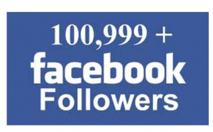 alot of Facebook followers